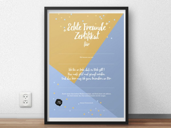 "<span>""Echte Freunde"" Zertifikat</span><i>→</i>"